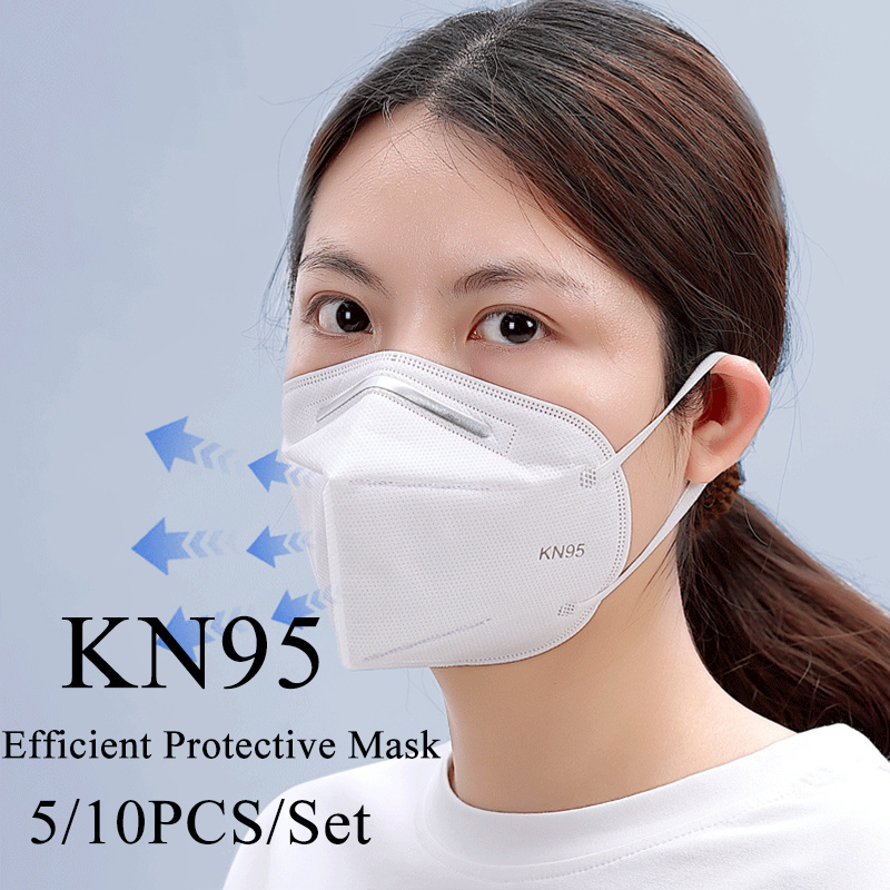 Fast Shipping KN95 Mask Antivirus Flu Anti Infection KN95 Mouth Masks PM2.5 Protective Safety Face Masks Same As KF94 FFP2