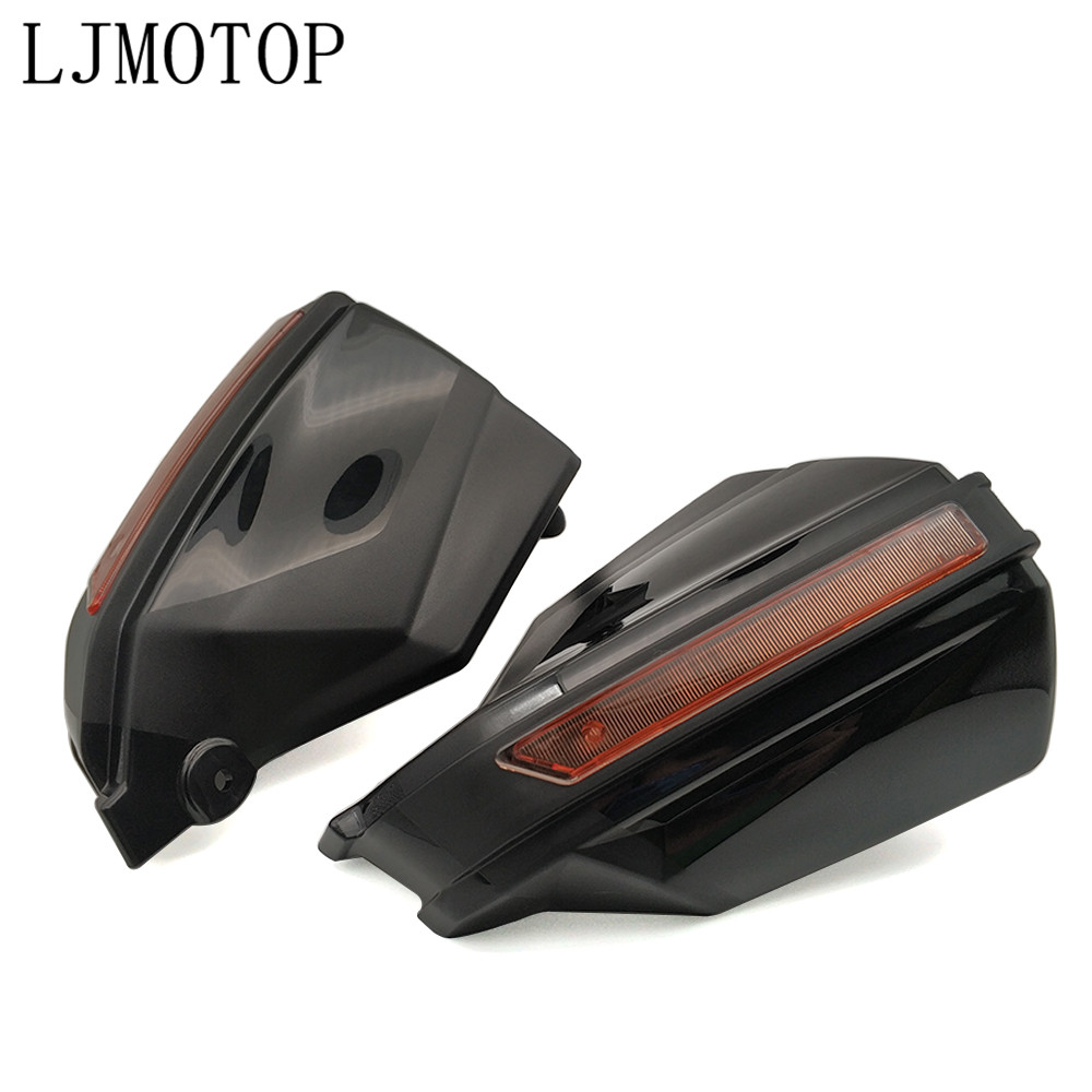 """Image 2 - 2019 New 1Pair Motorcycle Hand Guards 7/8"""" Handlebar Handguard Handle Protector Motocross Scooter ATV Proguard System Guard Gear-in Falling Protection from Automobiles & Motorcycles"""