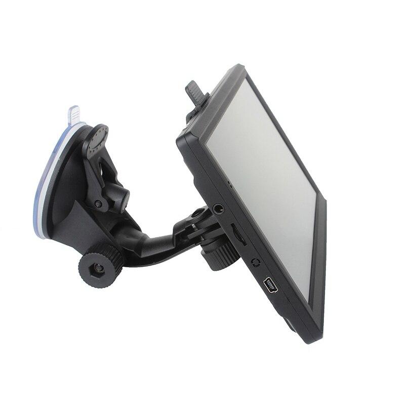 7 дюймов 8 Гб навигатор набор автомобильный Грузовик HGV gps навигационные карты Автомобильный gps навигатор HD дорожная сигнализация грузовик н...