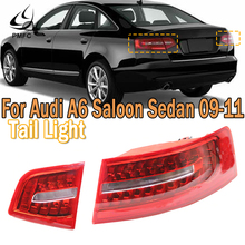 PMFC для хвостовой части автомобиля светильник единый светильник Поворотная сигнальная лампа для Audi A6 C6 S6 Quattro RS6 для салона Sedan 2009-2011 4F5945095J ...
