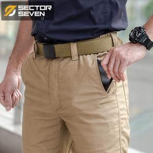 Image 3 - Sector Seven กางเกงยุทธวิธีกันน้ำ silm Mens กางเกง IX6 Casual กางเกงผู้ชายกองทัพทหารยุทธวิธีกางเกงชาย