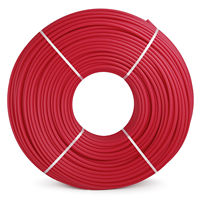 Red Radiant Floor Heat 1/2x1000ft Pex pipe Tubing Oxygen Barrier EVOH Pex B