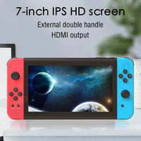 7 inch Retro Video Game Console Classic Handheld Game Player 3000mAh TV Output Builts in 32GB ROM Quad core ARM Cortex A7 1.3GHz
