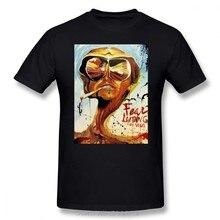 T-Shirt en coton de style Streetwear, surdimensionné et en coton
