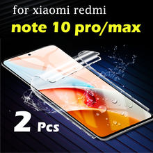 For Xiaomi Redmi note 10 pro screen protector 10pro max note10 promax 10promax xiaominote mi xiaomimi light lit soft flim clear