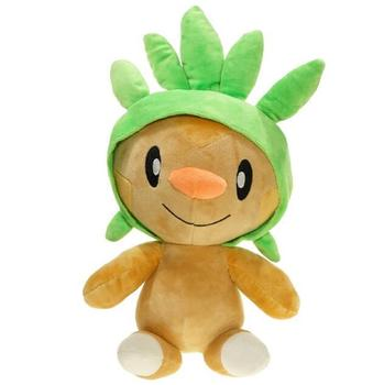 Eevee Figure Chespin Plush Doll PP Cotton Stuffed Animals Grass Elf Kids Toys 30CM image