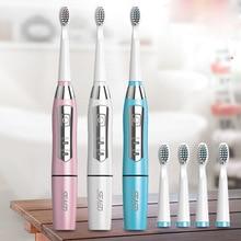 Seago Saichia звуковая электрическая зубная щетка для взрослых с мягкой щетиной, водонепроницаемая портативная зубная щетка от производителя, прямые продажи, Поддержка O