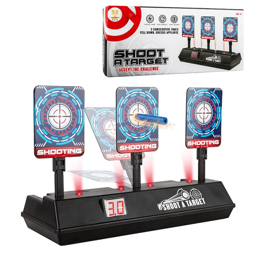 Education For Kids Fun Learning Toys For Children Electronic Digital Scoring Target Auto Reset Scoring Shooting TargetW816