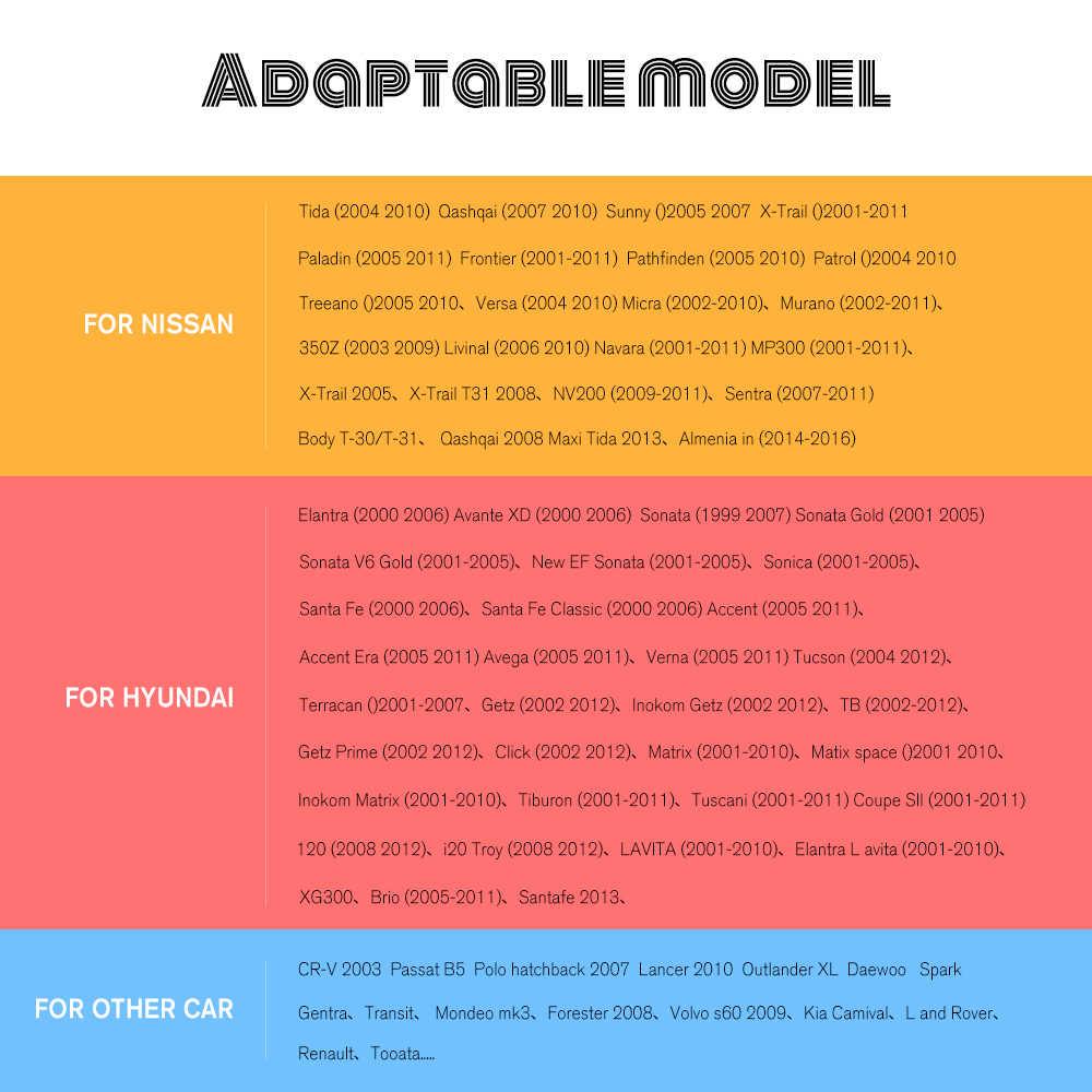 """Hikity 2 Din araba radyo çerçeve için 7 inç araba multimedya oynatıcı evrensel çerçeve 7 """"Nissian Toyota Autoradio 2 din araba çerçeve"""