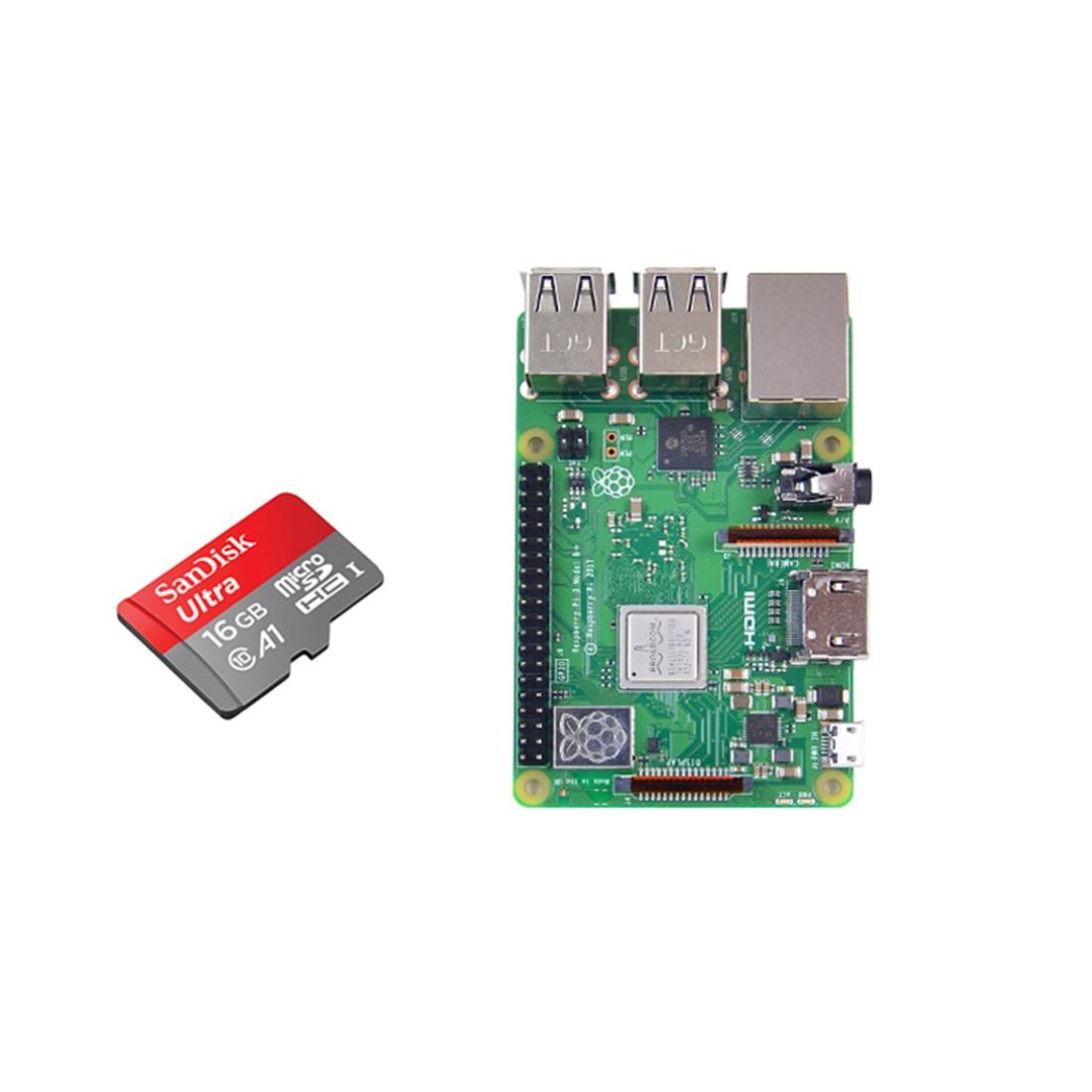 MODIKER Development Board With 16G Memory Card For Raspberry Pi 4 (1G OR 2G Running Memory)
