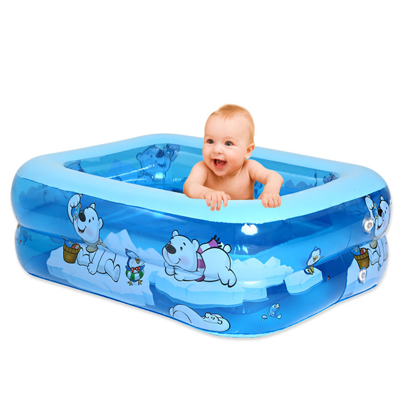 Le Pro Oversized Thick Infant Swimming Pool Baby Inflatable You Yong Tong Children Summer Family Style Pool Pool