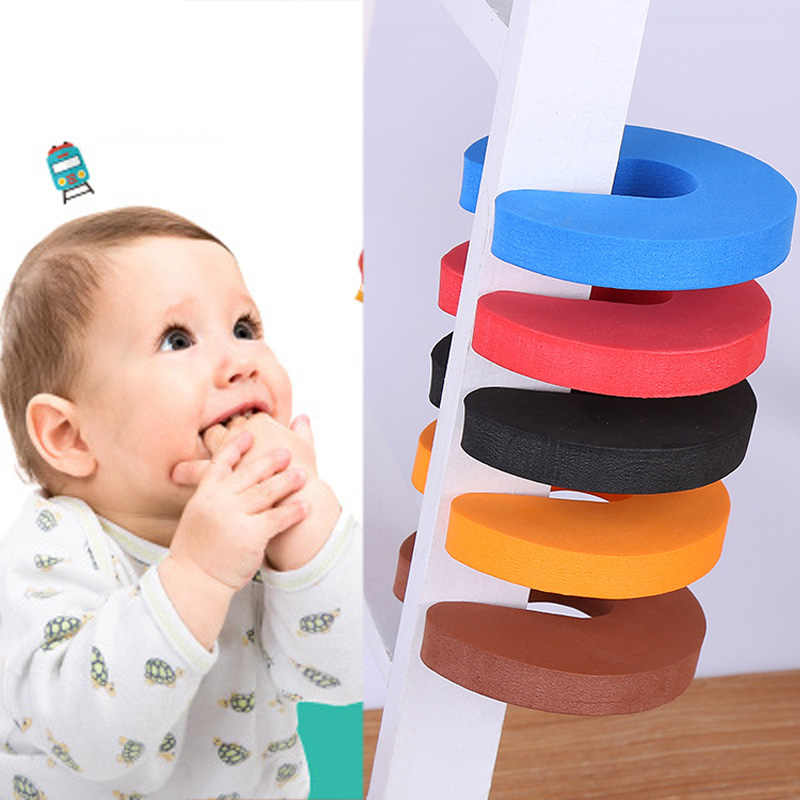 5pzs. Creativa cerradura de seguridad para bebés puerta armario para baño cerraduras de seguridad protección para bebés recién nacidos mano anti-pinza de sujeción