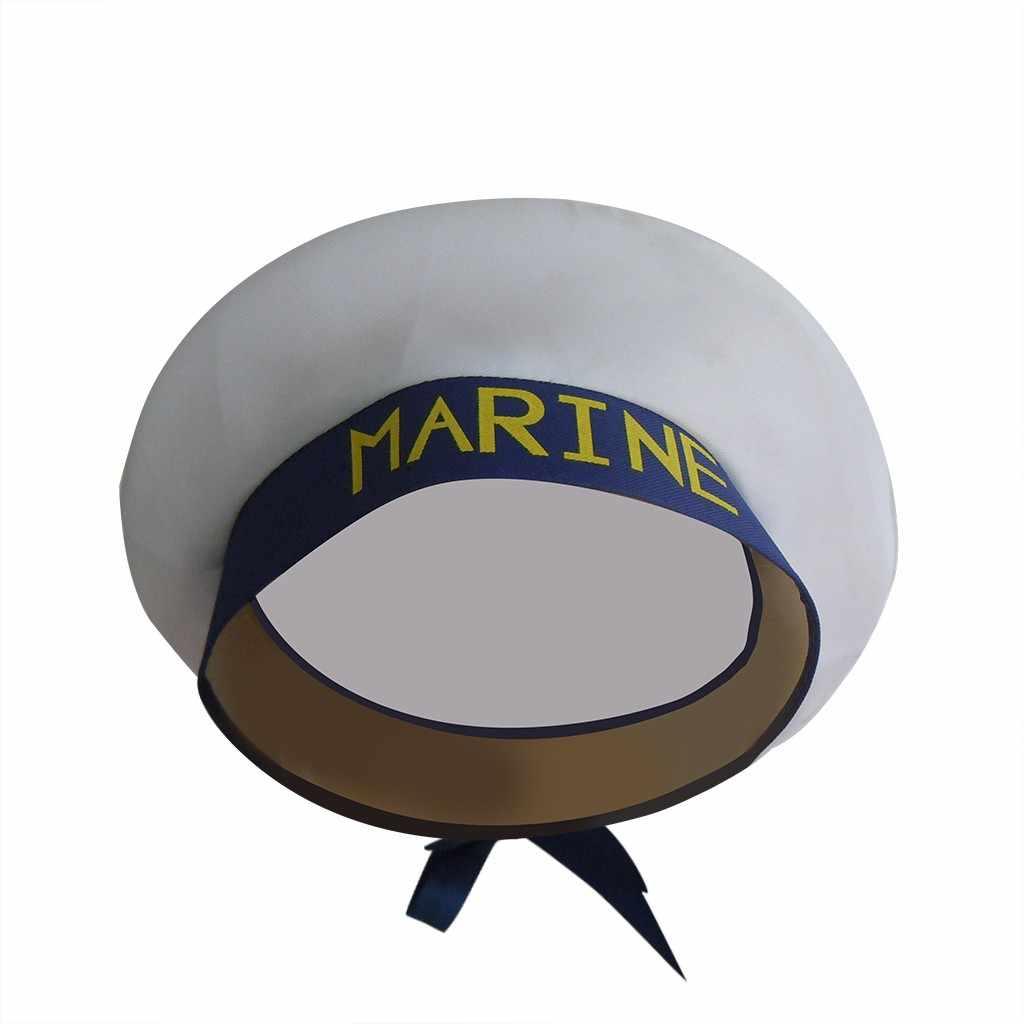 Adulto yate sombreros militares barco capitán nave capitán, marinero traje sombrero gorra ajustable azul marino Marina Almirante para los hombres las mujeres # Y5