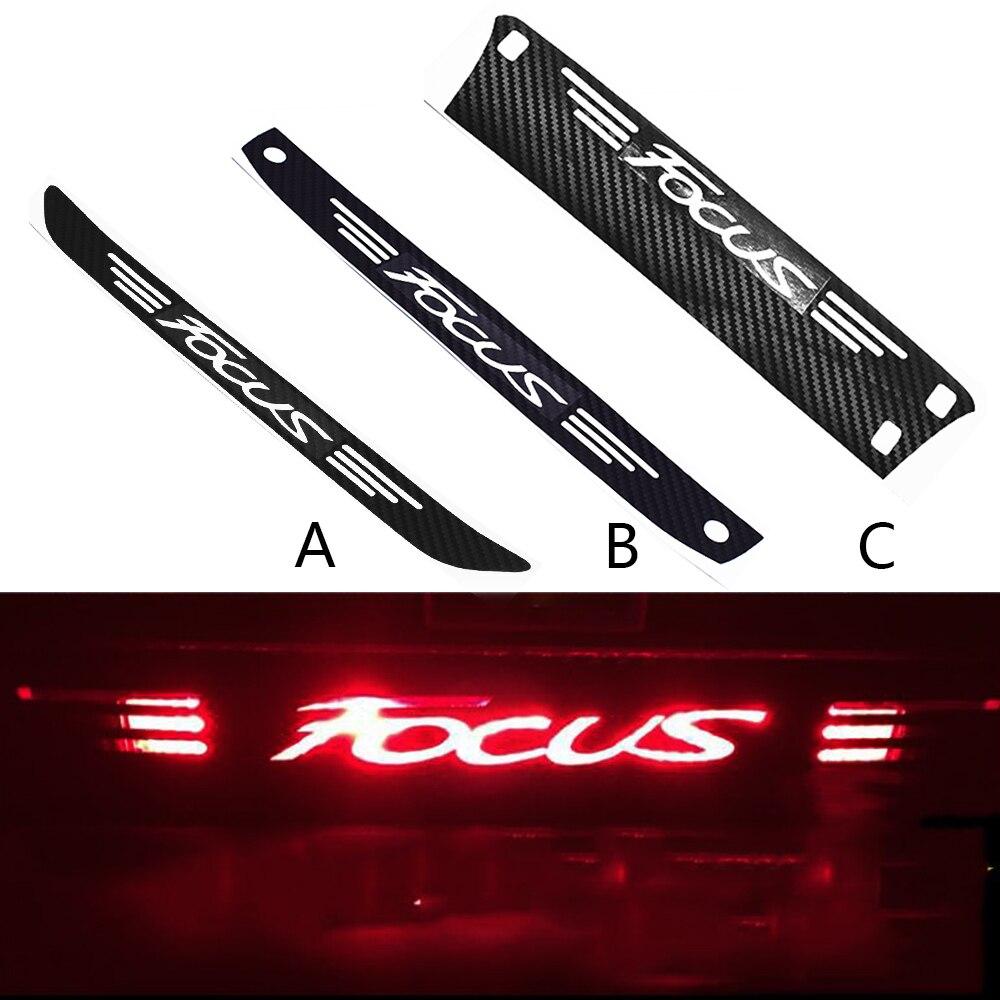 Наклейка на задний стоп светильник для Ford Focus MK2 MK3 2005-2018