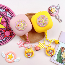 Cute Girl Silicone Cover for Beats Powerbeats Pro Case Bluetooth Earphone Accessories Wireless Headphone Portable Bag