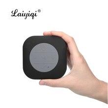Laiyiqi – enceinte Bluetooth, haut-parleur portable, mini format carré, caisson de basses, puissant, qc dia