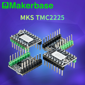 Makerbase MKS TMC2225 2225 Stepper Motor Driver StepStick 3D printer parts ultra silent For SGen_L Gen_L Robin Nano