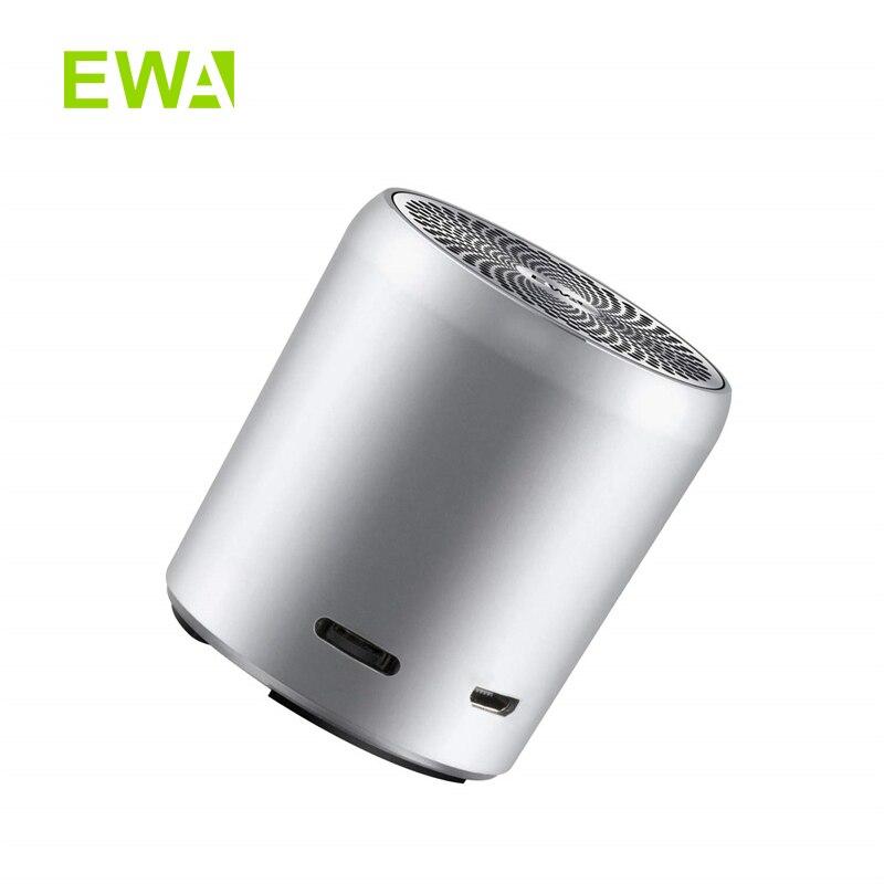 EWA A107s Mini Bluetooth Speaker, True Wireless Stereo(TWS), Enhance Bass Radiator, Portable Speaker Bluetooth 5.0Portable Speakers   -