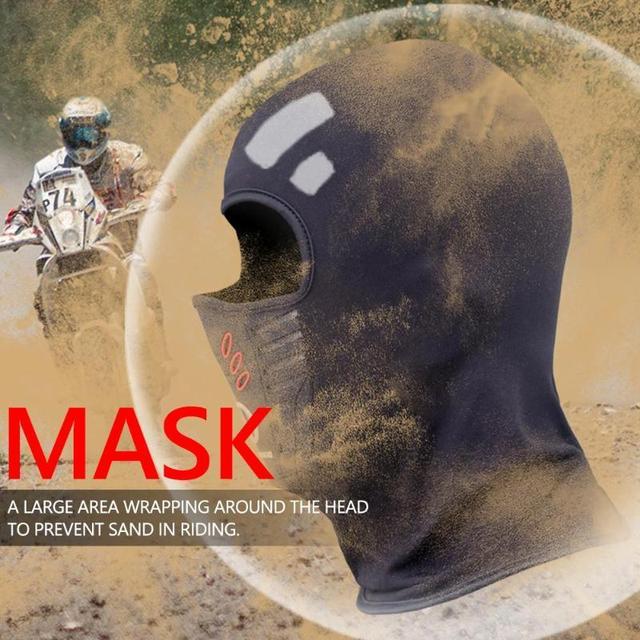Winter Windproof Motorcycle Mask Polar Fleece Neck Warmer Thermal Balaclava Full Face Shield 4