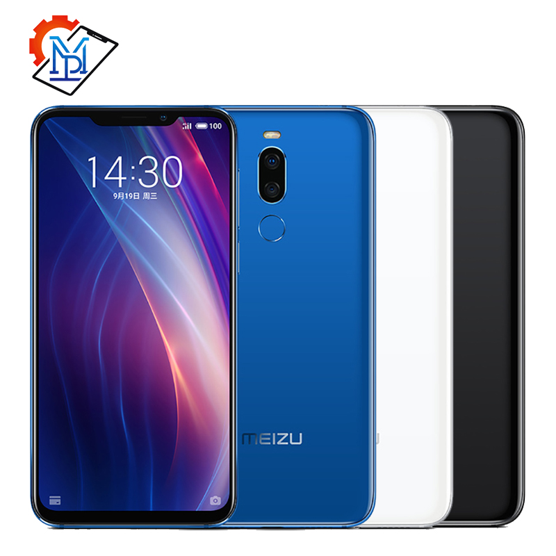 Global Rom Meizu X8 4G 64G 4G LTE Cell Phone Snapdragon 710 Octa Core 6.15'' 2220x1080P Dual Rear Camera Fingerprint Unlock