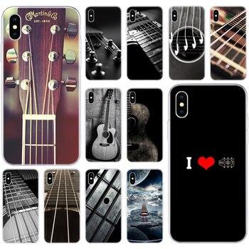 Popular guitarra es mi vida funda de silicona suave para Apple iPhone 11 Pro XS MAX X XR 7 8 Plus 6 6s Plus 5 5S SE funda de moda