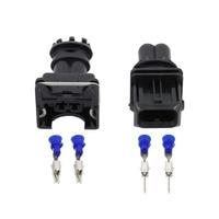 2 Pin amp tyco JPT w stylu 3.5mm w serii 2 pin DJ7021B 3.5 11/21 wodoodporny złącze żeńskie i męskie z pinami i uszczelnienie EV1 2 P w Złącza od Lampy i oświetlenie na