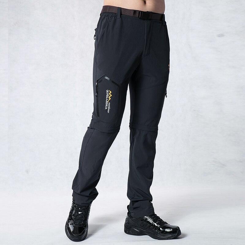 TRVLWEGO Мужские штаны с рыбками летние быстросохнущие эластичные водонепроницаемые ультратонкие солнцезащитные спортивные мужские походные...