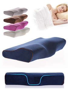 Ergonomic-Cervical-Pillow Pillows Latex Neck-Protection Sleeping-Beding Comfortable Butterfly