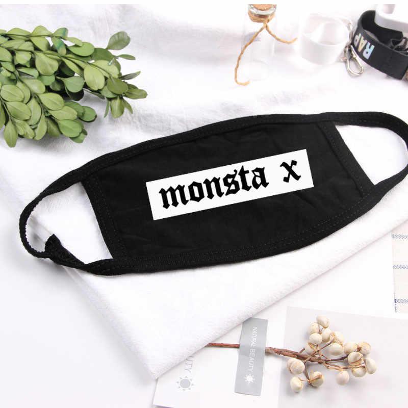 Monsta X обычный 2 альбома We Are Here Life Is Beautiful Festival Пылезащитная маска для лица HYUNGWON