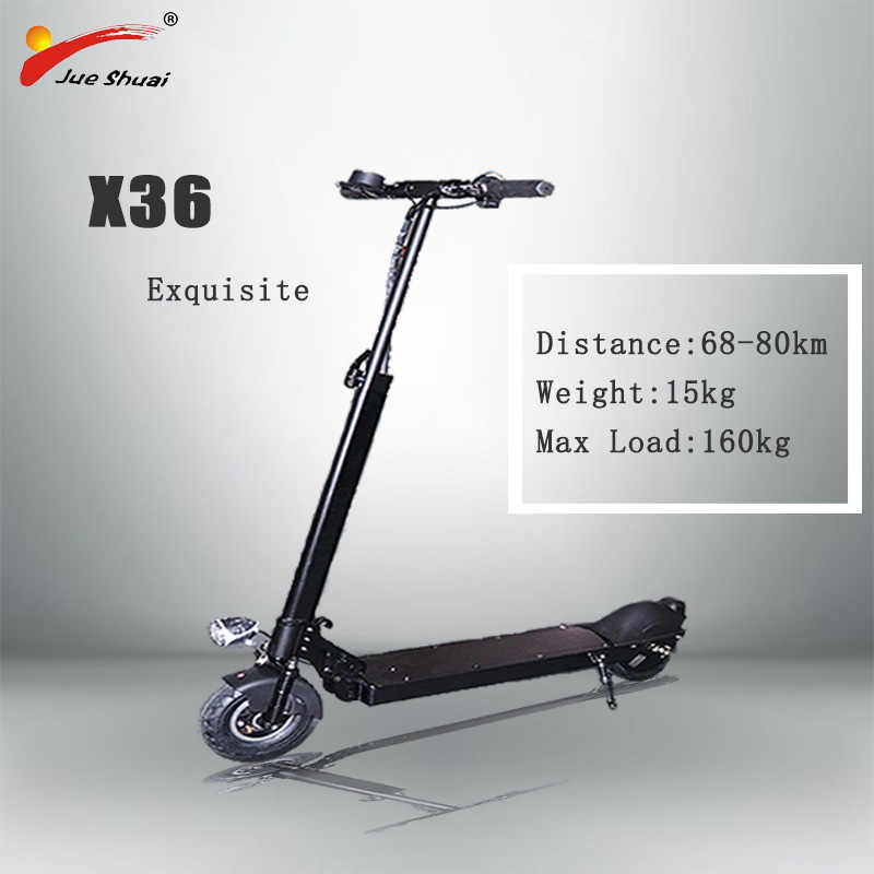 Free Shipping 8inch Electric Scooter 500W 36V 21AH Floding Speed Electric Kick Skateboard Patinete Electrico Adulte E Scooter