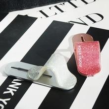Универсальный палец кольцо держатель телефон кольцо Блеск мобильный зажим для телефона стенд многодиапазонный смарт наклейка на заднюю панель для Iphone samsung HUAWEI