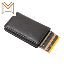Move Card Case Card Package Rfid Defence Degaussing Aluminium Alloy