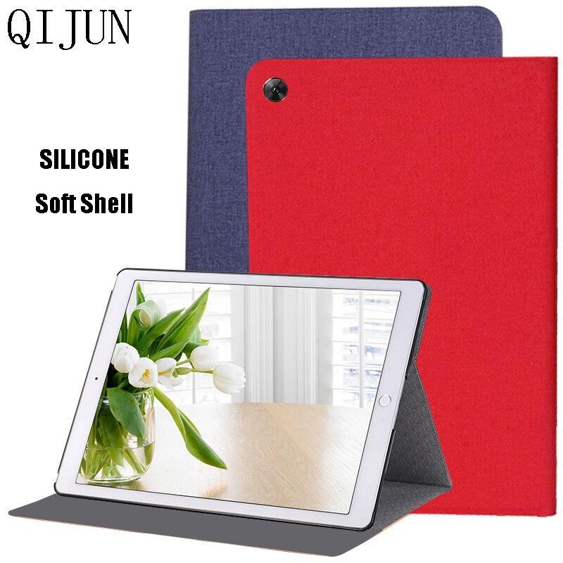 Флип-чехол для планшета для Huawei MatePad T10 T10S AGS3-L09 AGS3-W03 AGR-L09 AGR-W03 из искусственной кожи защитный чехол силиконовый мягкий чехол