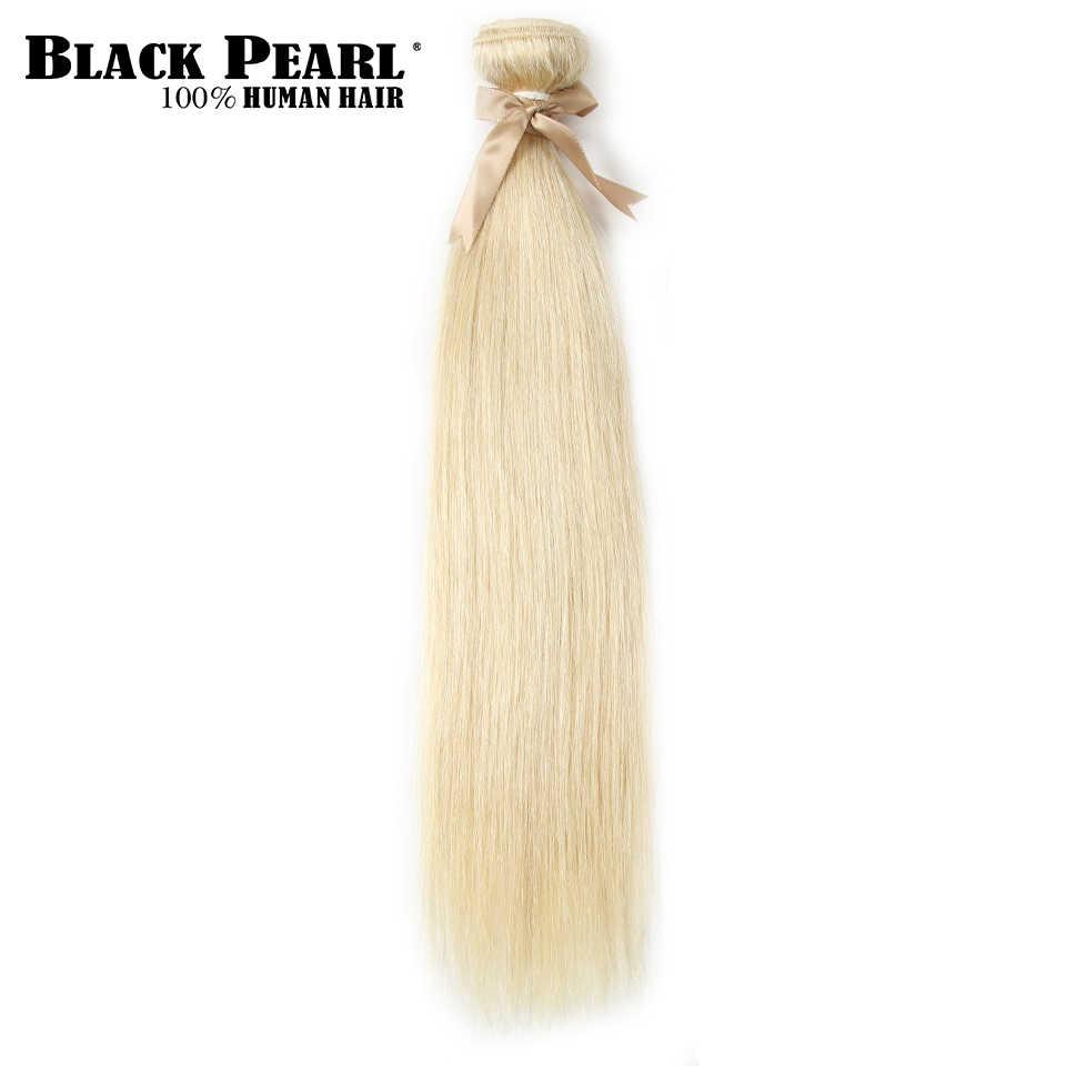 Siyah Inci 613 Bal Sarışın Demetleri brezilyalı Düz Saç Örgü % 100% Remy insan saçı postiş 613 Demetleri