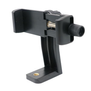 New Portable 360 Degree Rotation Tripod Mount Holder Cell Phone Stand Bracket Clip Mount Bracket Adapter for Smartphone