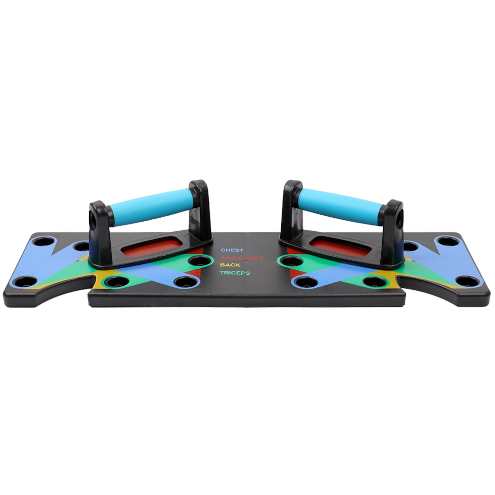 Household Multifunction Push Up Rack Board 9 System Comprehensive Fitness Exercise Workout Push-up Stands Body Building Training
