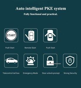 Image 5 - 12V Car Alarm Passive PKE Keyless Entry Remote Start Stop Engine System Central Locking Car Engine Start Stop Button Automotive