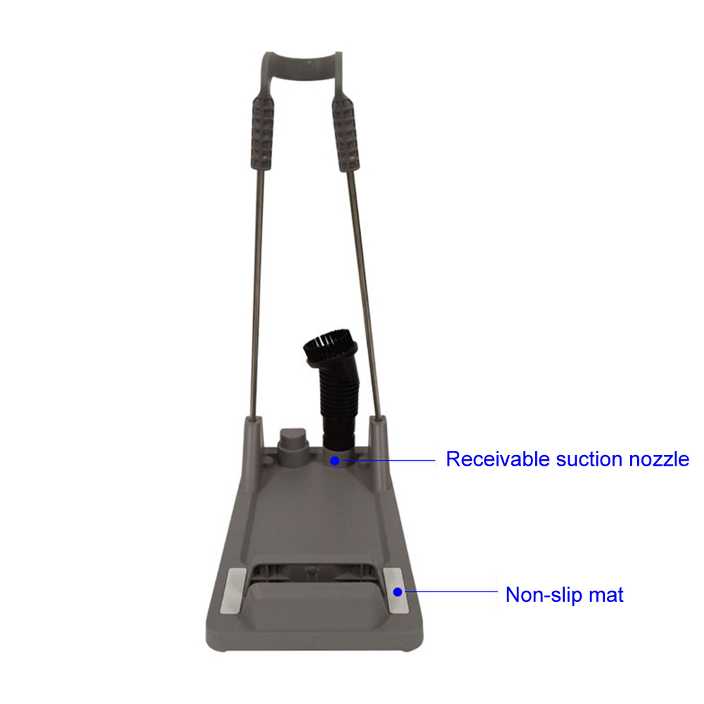 Holder Stand Anti Slip Bracket No Drilling Support Storage Durable Practical Fixed Mount Home Vacuum Cleaner Hanger For Dyson Vacuum Cleaner Parts     - title=