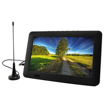 цена на Car Portable TV 9' 110V-240V ATSC 16:9 Car Digital TV Support TFT USB 1080P HD LED HDMI Video Player Built-in 1500Mah Batteries