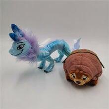 De dibujos animados de Disney dragón Animal de peluche juguetes película Raya y el último dragón de peluche de juguete para niños de cumpleaños de las niñas regalo de Navidad