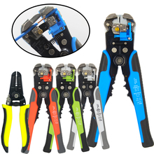 Stripping Multifunctional Pliers Used For Cable Cutting Crimping Terminal 0 2-6 0mm High-precision Automatic Brand Hand Tool cheap COLORS CN(Origin) Electrical Carbon Steel Straight European Wire Stripper HS-D1 HS-D2 Decrustation Pliers 10-24AWG 0 2-6 0mm2