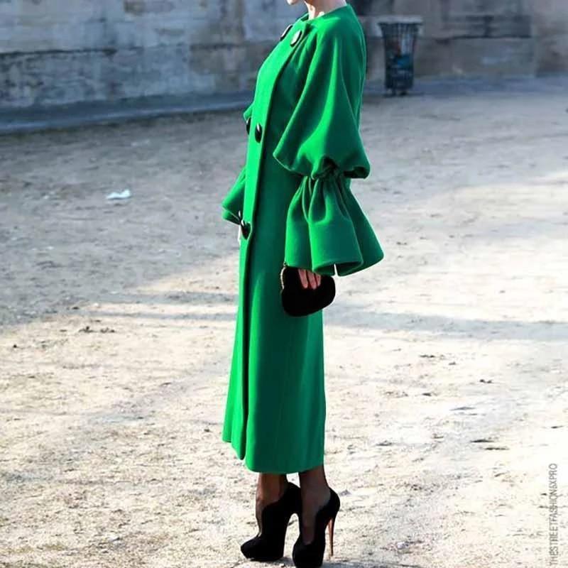 Womens Long Sleeve   Trench   Coats Warm Outwear Windbreaker Office Work Long Tops