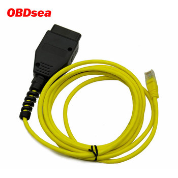 New ESYS 3.23.4 V50.3 Data Cable For bmw ENET Ethernet to OBD OBDII Interface E-SYS ICOM Coding Cable F-serie Diagnostic Cable image