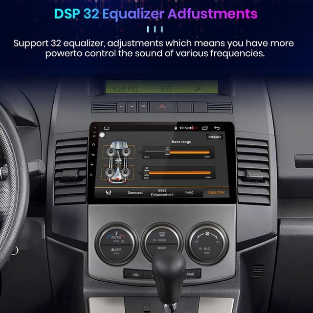 Junsun V1 Pro 4G CarPlay Android 10 4G+64G Car Radio Multimedia Player For Mazda 5 2005 - 2010 GPS no 2din 2 din dvd