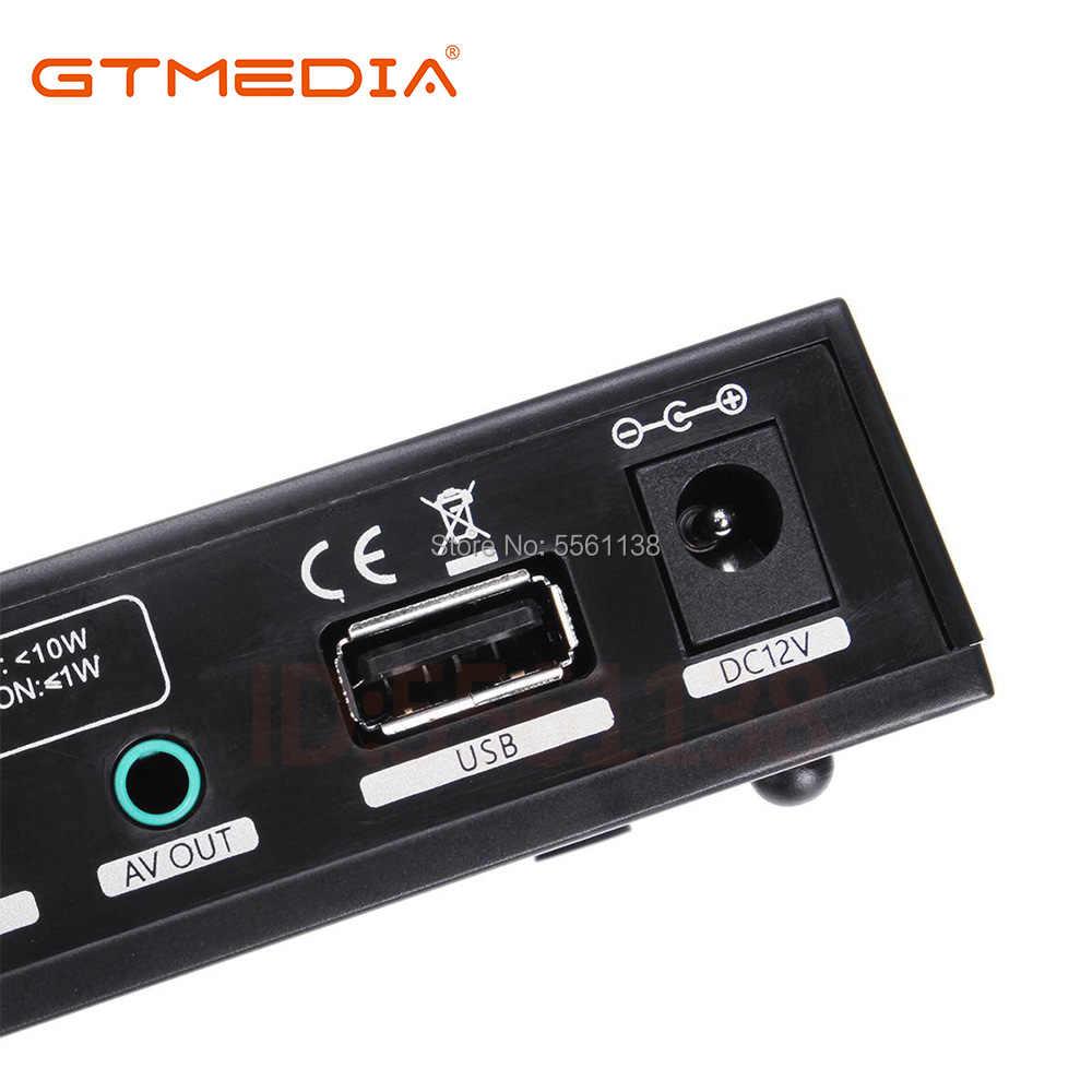 1080P Digital GTmedia V7S HD Recettore DVB-S2 H.265 HD Decoder fornire regalo GT media v7s HD nessun app incluso