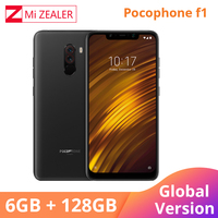 Global Version Xiaomi POCOPHONE F1 POCO F1 6GB 128GB Snapdragon 845 Mobile Phone 6.18'' Full Screen Dual AI Camera LiquidCool CE