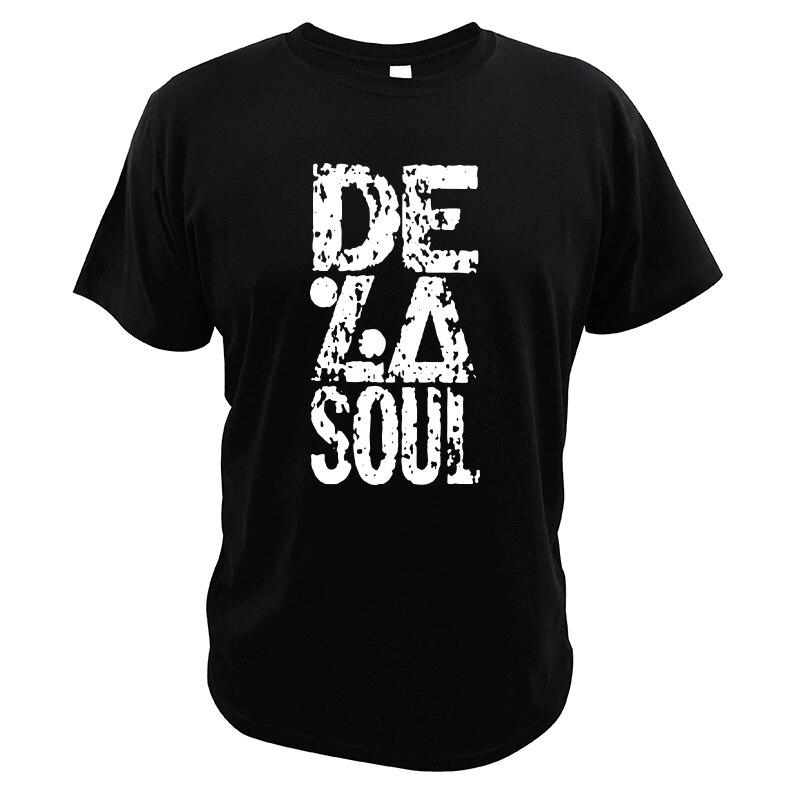 T shirt De La Soul Is Dead à col ras du cou, avec les meilleurs Albums De Rap du groupe De Hip Hop américain, De haute qualité |