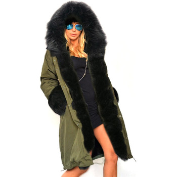 Stylish  Winter Women Long Coat Female Autumn Warm Hooded Down Jacket Soft Thick Cotton Fur Parkas Winter Warm Outwear Coat New недорого