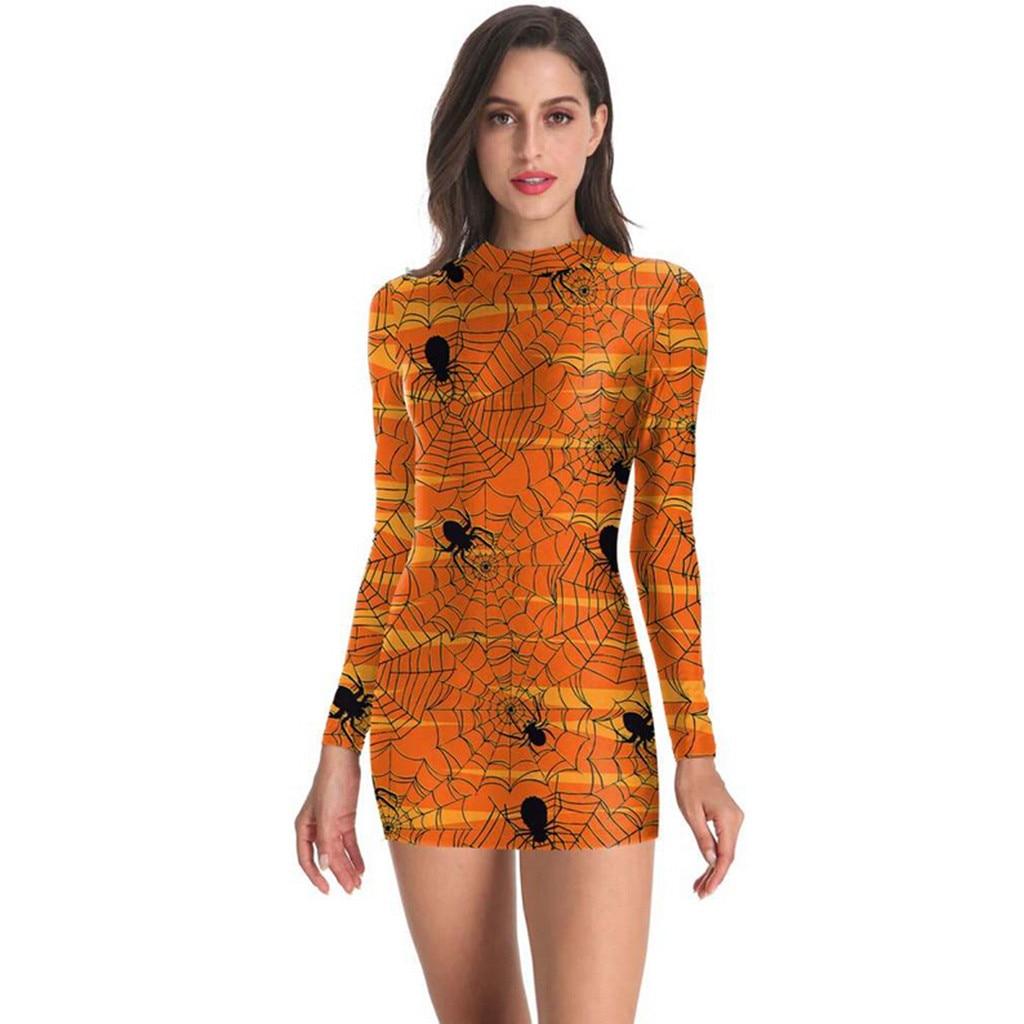 dress vestidos S-2XL Winter 2020 NEW vestido women dress ropa mujer shein robe femme dresses 2020 Halloween Long Sleeve Shein Z4