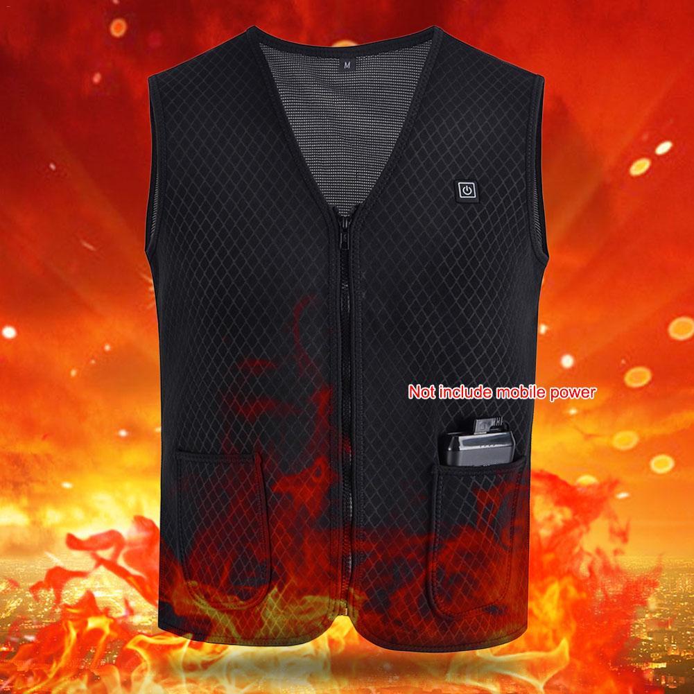 do infravermelho distante aquecimento electrico colete casaco 02